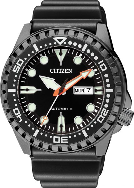 Citizen Herrenuhr NH8385-11EE Automatik Werk schwarz IP