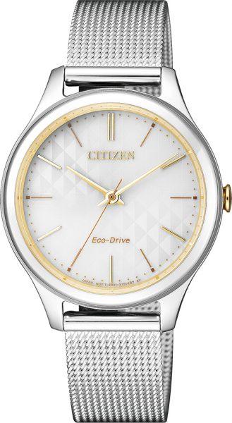 Citizen Damenuhr EM0504-81A Eco Drive bi...