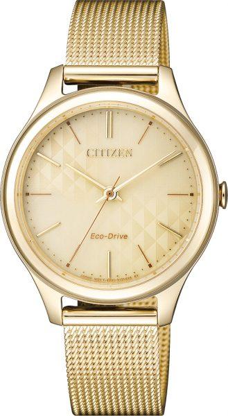 Citizen Damenuhr EM0502-86P Eco Drive ge...