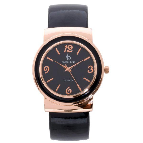 Uhr Crystal Blue Spangenuhr Armband Ziff...