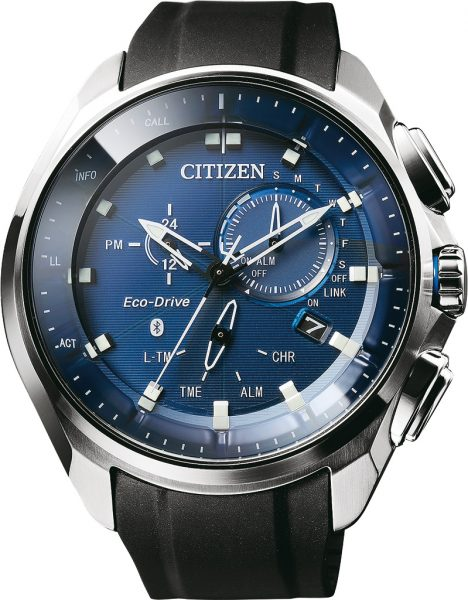 Citizen Uhr BZ1020-14L Eco Drive Bluetooth Smart phone Funktion Chronograph Herrenuhr
