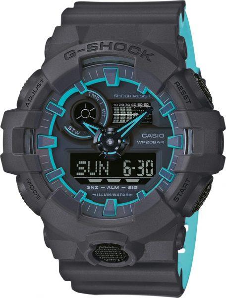 Casio Uhren GA-700SE-1A2ER G-SHOCK Herre...