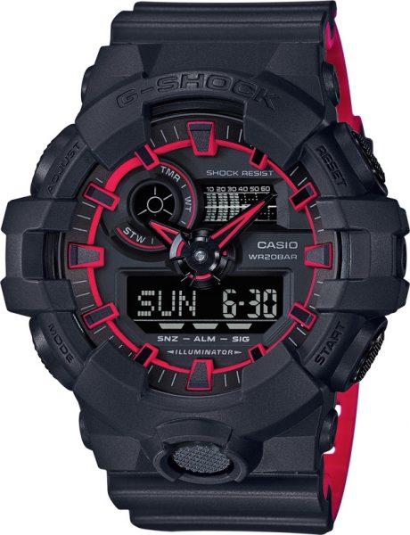Casio Uhren GA-700SE-1A4ER G-SHOCK Herre...