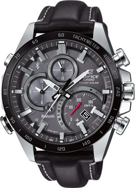 CASIO Uhr EQB-501XBL-1AER Edifice Blueto...