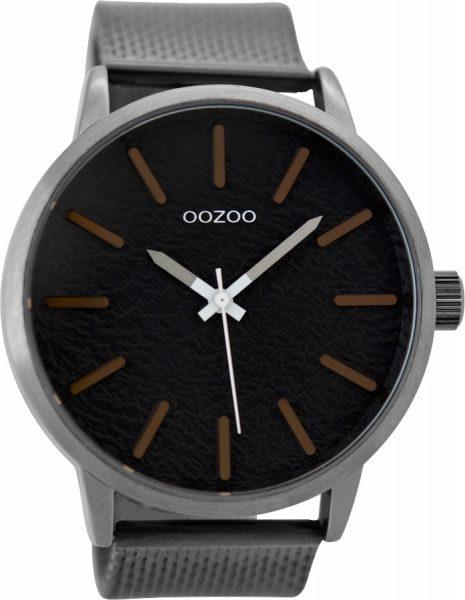 OOZOO Herrenuhr C9233 silber Mesh Armban...