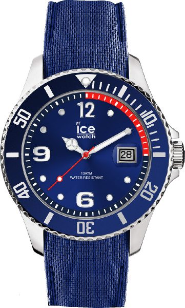 ICE WATCH ICE steel 015770 blue medium U...