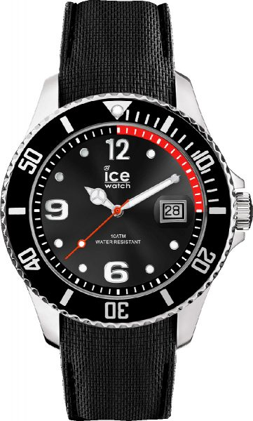 ICE WATCH ICE steel 015773 black Large Herrenuhr