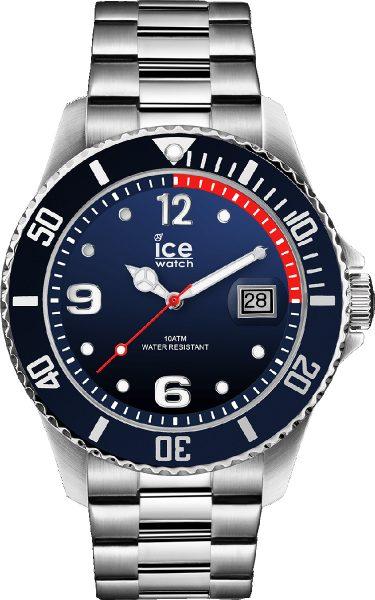 ICE WATCH SALE  ICE steel 015775 marine silver Large Herrenuhr