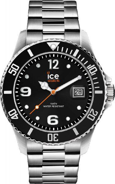 ICE WATCH ICE steel 016031 black silver ...