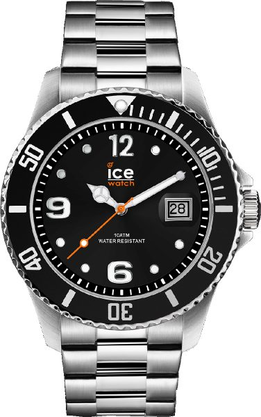 ICE WATCH ICE steel 016032 black silver ...