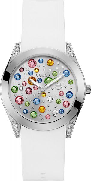 GUESS Damenuhr W1059L1 LADIES TREND wei�...