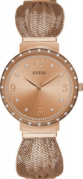 GUESS Damenuhr W1083L3 LADIES DRESS Mesh...