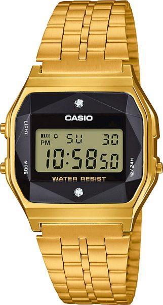 CASIO SALE Retro Diamond Collection Damenuhr A159WGED-1EF