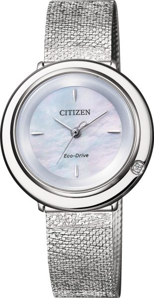 CITIZEN Damenuhr EM0640-82D Diamand Eco ...