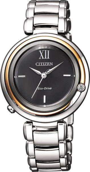 CITIZEN Damenuhr EM0658-87E Diamand Eco ...