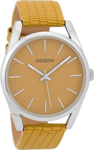 OOZOO Damenuhr C9582 beige Lederarmband ...
