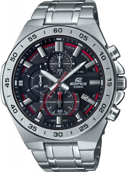 CASIO SALE Herrenuhr EFR-564D-1AVUEF massiv Edelstahl Chronograph
