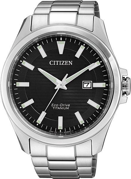 Citizen SALE Herrenuhr BM7470-84E Eco-Drive schwarzes Ziffernblatt