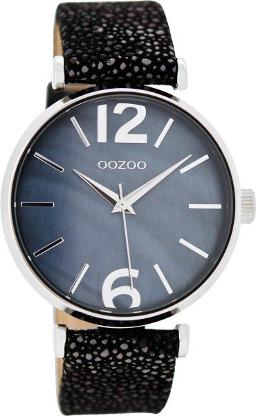 OOZOO SALE Damenuhr C8919 Lederband Silber Metall