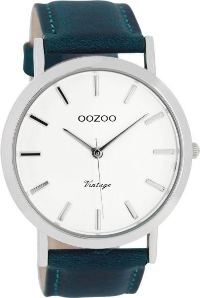 OOZOO SALE Herrenuhr C8116 Quarz Lederband Metall