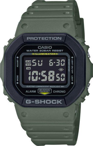 Casio G-Shock DW-5610SU-3ER Herren Uhr Quarz Digital Grün Schwarz