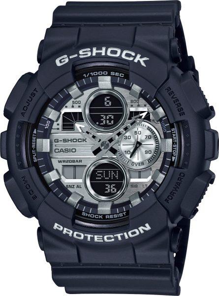 Casio G-Shock GA-140GM-1A1ER Herrenuhr Quarz Analog Digital Schwarz Silber