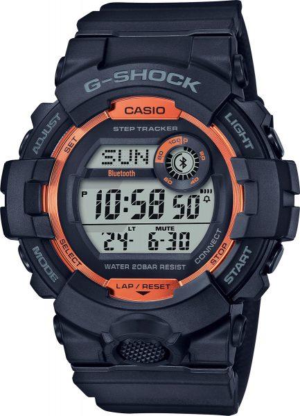 Casio G-Shock SALE GBD-800SF-1ER Herrenuhr Quarz Digital Bluetooth Schwarz