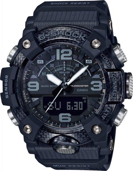 Casio G-Shock GG-B100-1BER Herrenuhr Quarz Analog Digital Bluetooth Kompass Höhenmesser Barometer Thermometer Schwarz