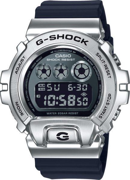 Casio GM-6900-1ER G-Shock Herren Uhr schwarz silber digital