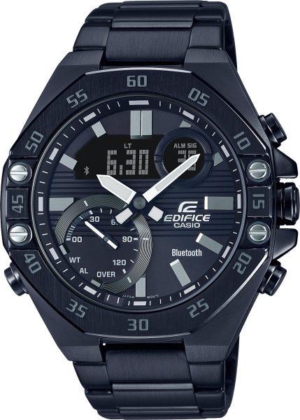Casio Edifice SALE ECB-10DC-1AEF Herren Uhr Bluetooth schwarz