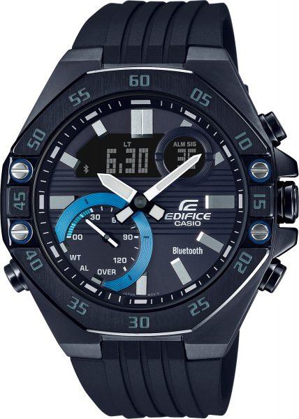Casio Edifice SALE ECB-10PB-1AEF Herren Uhr Bluetooth schwarz