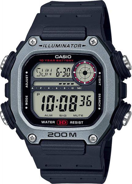 Casio Collection DW-291H-1AVEF Herren Uhr Quarz Schwarz Grau Digital
