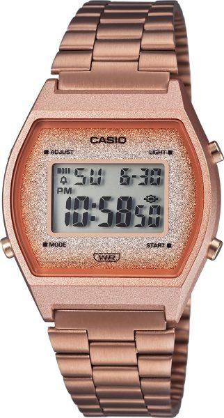 Casio Retro B640WCG-5EF Damen Uhr Quarz Digital Rose