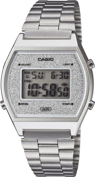 Casio Retro Uhr B640WDG-7EF Damen Uhr Quarz Digital Silber