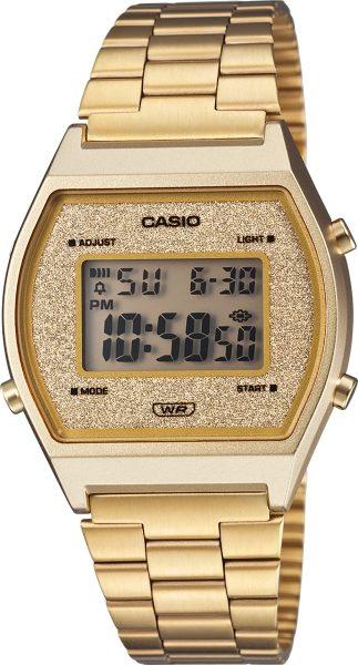 Casio Retro B640WGG-9EF Damen Uhr Quarz Digital Gold