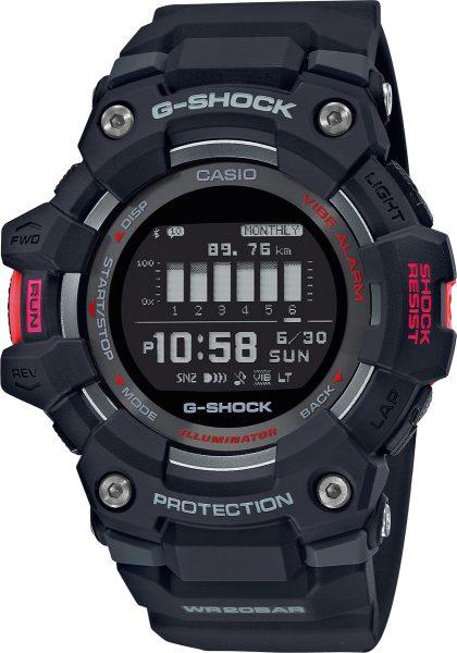 Casio G-Shock GBD-100-1ER  rot schwarze Fitness Uhr Bluetoth Taucheruhr 20 Bar phone finder Funktion