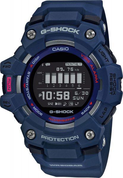 Casio G-Shock GBD-100-2ER bluetooth Casio Uhr blaue Taucheruhr Fitness Uhr