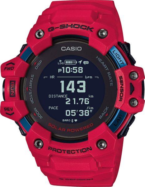 Casio G-Shock GBD-H1000-4ER schwarze Solar Bluetooth Sport Taucher Uhr Smart Watch
