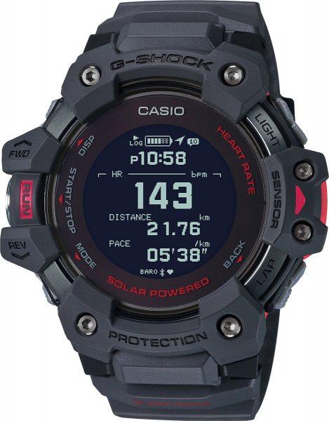 Casio G-Shock GBD-H1000-8ER rote Solar Uhr Smart watch Bluetooth Taucheruhr Sportuhr