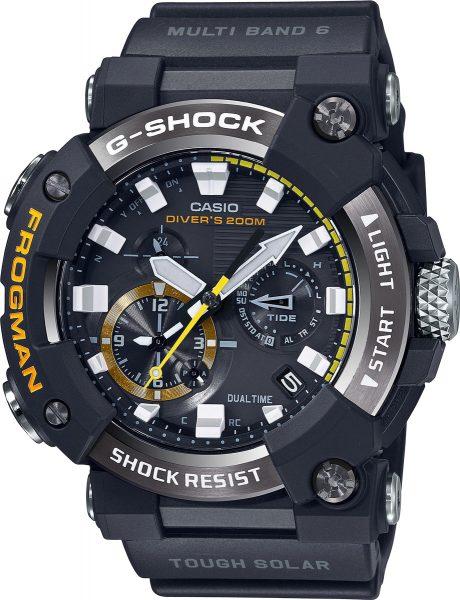 Casio G-Shock GWF-A1000-1AER Carbon Taucheruhr 200 Meter Bluetooth Herrenuhr