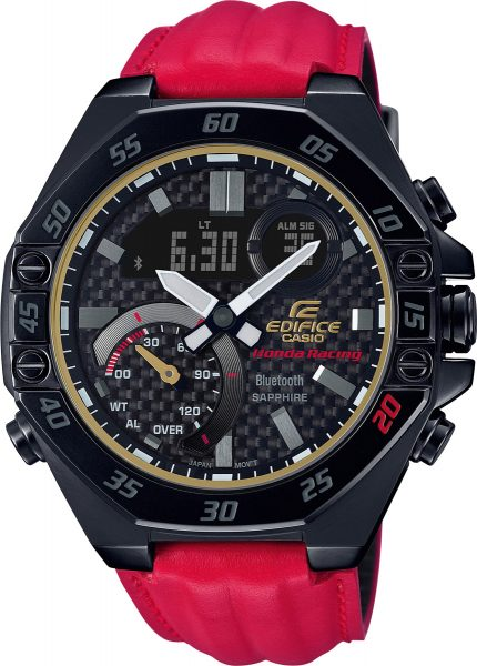 Casio Edifice ECB-10HR-1AER Edifice Limited Herrenuhr Honda Racing Schwarz / Rot