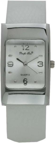 Uhr, Quarzwerk, silberfarbenes Zifferbla...