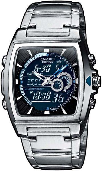 Casio SALE EDIFICE EFA-120D-1AVEF Quarzwerk Edelstahlgehäuse/-armband Mineralglas 10 ATM Ø 38x44x13mm