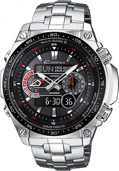 Casio Edifice ECW-M300EDB-1AER Solar Fun...