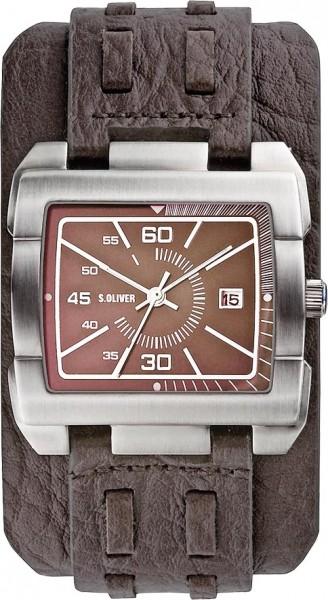 soliver Uhr SO-2050-LQ Quarzwerk, Edelst...