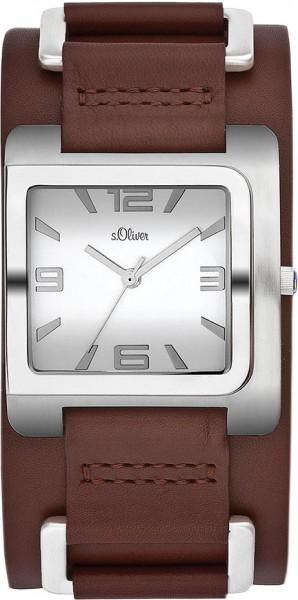 soliver Uhr SO-1642-LQ Quarzwerk, Edelst...