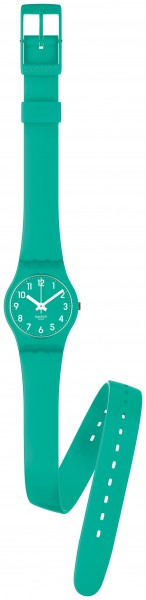 Swatch Lady Mint Leave Collection,25 mm ...