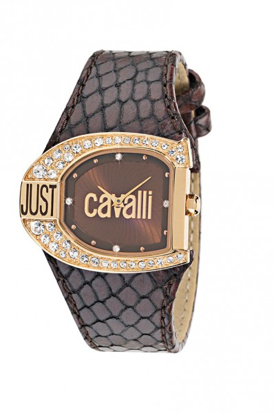 Just Cavalli Uhr R7251160555 eine besondere edle Quarzwerk Uhr von Just Cavalli. Diese zeichnet sich besonders durch das Kratzunempfindliche Mineralglas aus, desweiteren besitzt die Uhr ein elegantes braunes Lederband. Die Lünette ins mit traumhaft schöne