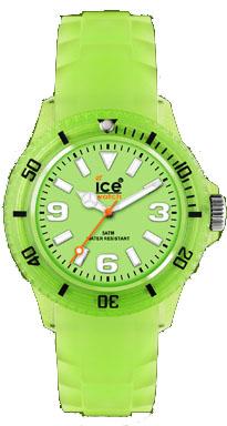 Ice Watch Ice Glow Green Silikonuhren Ø...