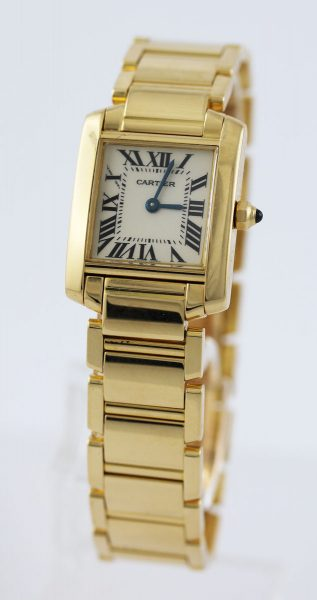 CARTIER Gold 750 Uhr W50002N2750/- Damen...